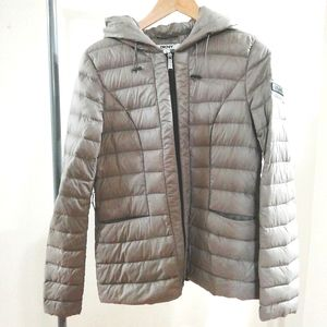 DKNY quilted down jacket